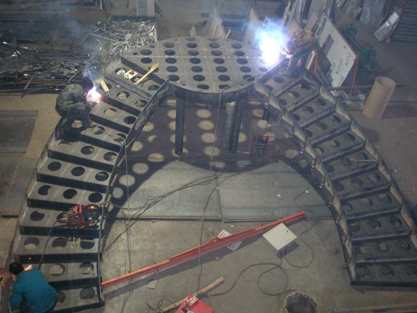 旋转楼梯钢结构制作